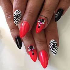 zebra nails nails beautiful nail designs nail designs