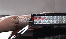 how to install led light bar on roof how to install truck roof top road led light bar