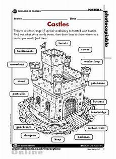 worksheets ks2 parts 18802 a great way to learn castle vocabulary middle ages history teaching history homeschool history