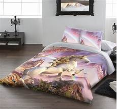 awesome unicorn duvet cover by david penfound