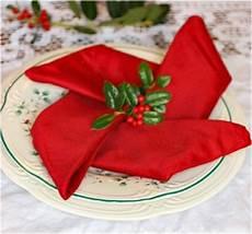 servietten falten weihnachten deko ideen