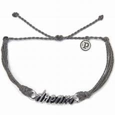 Pura Vida Bracelets Silver Word Collection Bracelet Ebay