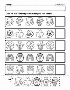 s day worksheets 18837 free st s day pattern worksheets pattern worksheet st day activities free