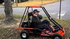 go kart 2 sitzer manco go kart cart gokart 2 seater youth 5 hp for