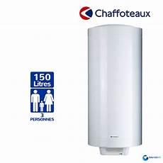 chauffe eau electrique 150l chaffoteaux hpc2 mural vertical