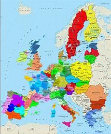 eu länder karte eu l 228 nder mit hauptstadt karte
