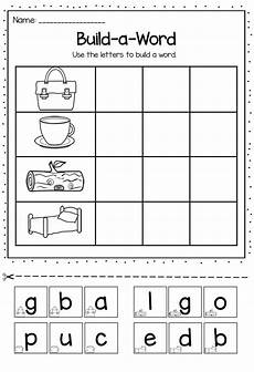 building three letter words worksheets 21021 build a word printable pack includes 24 different worksheets for cvc ccvc cvcc words letter