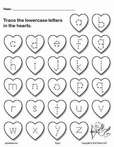 s day letter worksheets 20387 free printable s day uppercase and lowercase alphabet letter tracing worksheets