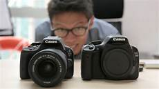 canon unveils eos 100d rebel canon eos 100d rebel sl1 on review