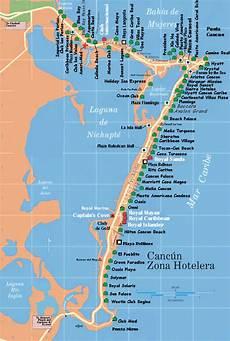 fivipedoy hotel zone map cancun
