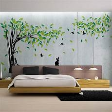 home decor wall stickers green tree wall sticker large vinyl removable living room