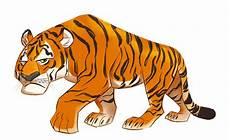 23 Gambar Harimau Kartun Hitam Putih Gambar Kartun Mu