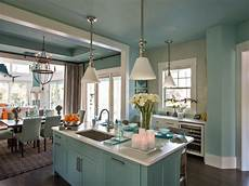 kitchen paint color decorating ideas pictures of colorful kitchens ideas for using color in the kitchen hgtv