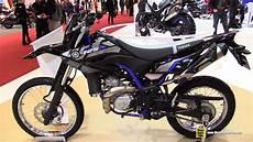 yamaha wr 125r 2016 yamaha wr 125 r walkaround 2015 salon de la moto