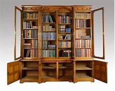 large oak four door bookcase antiques atlas