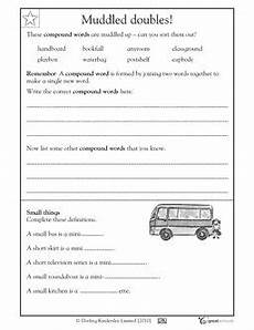 2nd grade reading writing worksheets compound words all mixed up reading worksheets