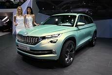 Skoda Kodiak Suv Might Be Seen In Coupe And Vrs Versions