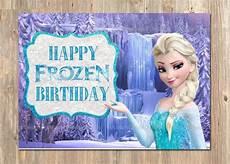 malvorlagen frozen happy birthday items similar to frozen birthday card happy birthday