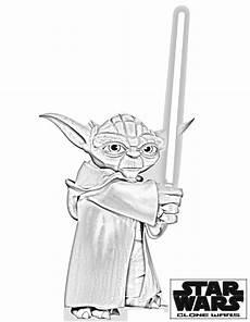 Lego Wars Yoda Ausmalbilder Wars Yoda Ausmalbilder Wars Schablone