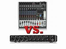 usb audio interface vs mixer usb mixer vs audio interface for your home studio barnden