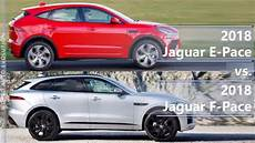 dimensions of jaguar f pace 2018 2018 jaguar e pace vs 2018 jaguar f pace technical