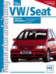 sharan oder alhambra werkstatthandbuch reparaturanleitung 1273 vw volkswagen