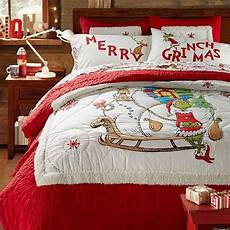 the grinch words of who ville flannel duvet cover sham