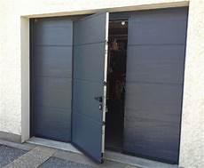 prix d une porte de garage sectionnelle avec porte de garage sectionnelle isol 233 e avec portillon la