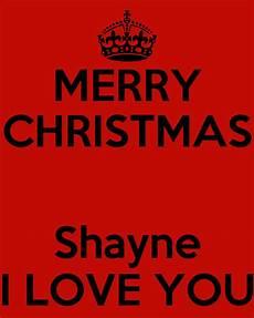 merry christmas shayne i love you poster aphrodite keep calm o matic