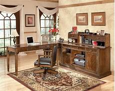 home office furniture outlet 4 pc hamlyn home office desk set by ashley home gallery