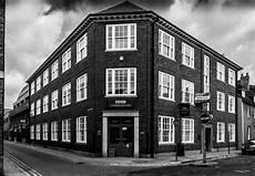 Gambar Hitam Dan Putih Jalan Rumah Kota Bangunan