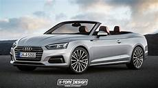 Rendering 2018 Audi A5 Cabriolet