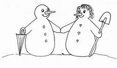 malvorlage schneemann und schneefrau sprachanfang f 252 r die schneefrau f 252 r den schneemann