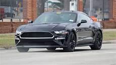 Ford Mustang Bullitt 2018 Spied Testing In Shadow Black