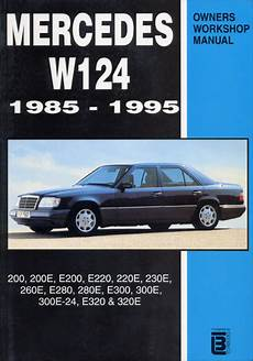 motor repair manual 1993 mercedes benz 300te security system mercedes benz e class 1987 1995 w124 books technical documentation page 1