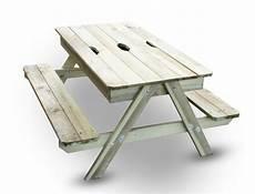 table bac à bois table de pique nique bois avec bac 224 int 233 gr 233