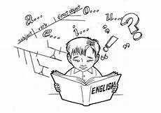malvorlage englisch lernen kostenlose ausmalbilder zum