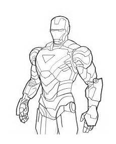 Ironman Malvorlagen Pdf How To Draw Iron Coloring Pages