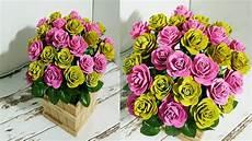 Diy Beautiful Roses From Upcycled Egg Box Drngo