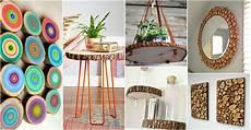 12 lovely wood slice crafts