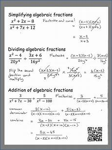 gcse algebra questions worksheets 8549 how to simplify algebraic fractions gcse maths gcse math studying math college math