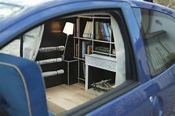 A Cozy Study Inside Subcompact Car  Neatorama