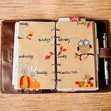 Decoration Ideas For Diary by Mrs Brimbles Squirrels In The Leaves This Weeks Filofax