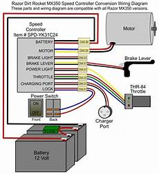 razor mx350 version 8 control modification electricscooterparts com support