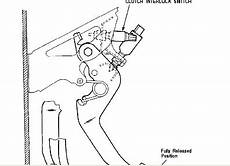 clutch safety switch wiring diagram p1800 transmission clutch interlock safety switch circuit failure ford troublecodes net