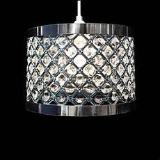modern chandelier style ceiling light l shade drop pendant acrylic crystal ebay