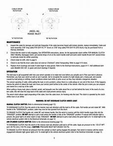 ramsey winch rph 8000 user manual page 5 84