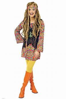 hippie kleid hippie kost 252 m flower power 60er 70er jahre