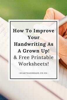 free handwriting improvement worksheets for adults 21886 how to easily improve your handwriting as an improve your handwriting handwriting