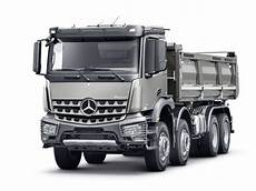mercedes arocs mercedes launched construction vehicles at 66th iaa